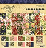 Graphic 45 Floral Shoppe 12x12 Collection Pack