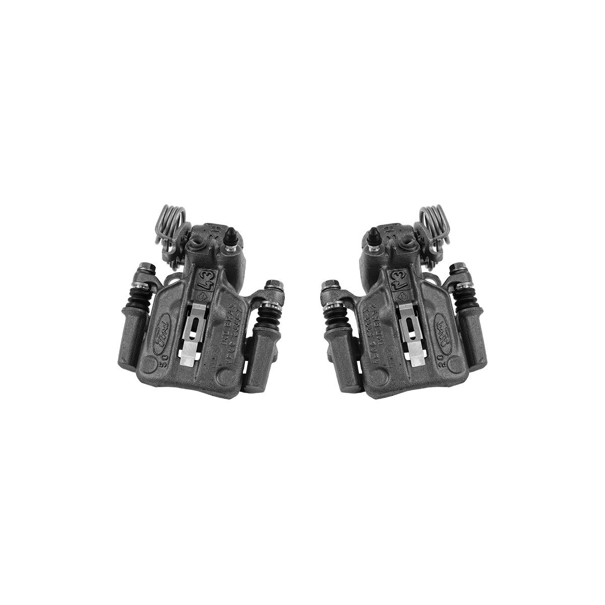 CCK02517 2 REAR Premium Grade OE Semi-Loaded Caliper Assembly Pair Set
