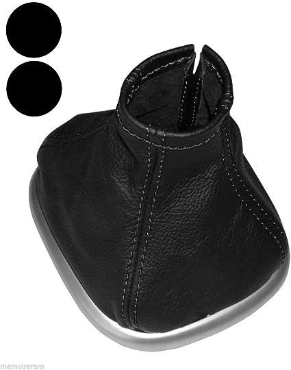 Soufflet de levier vitesse en simili cuir noir AERZETIX