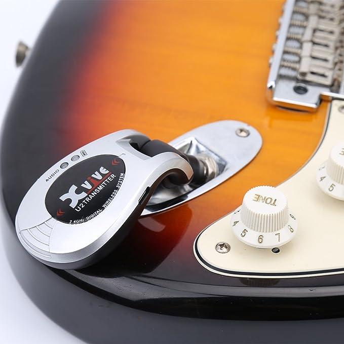 X-Vive U2 - Sistema inalámbrico de guitarra, color cromado: Amazon.es: Instrumentos musicales