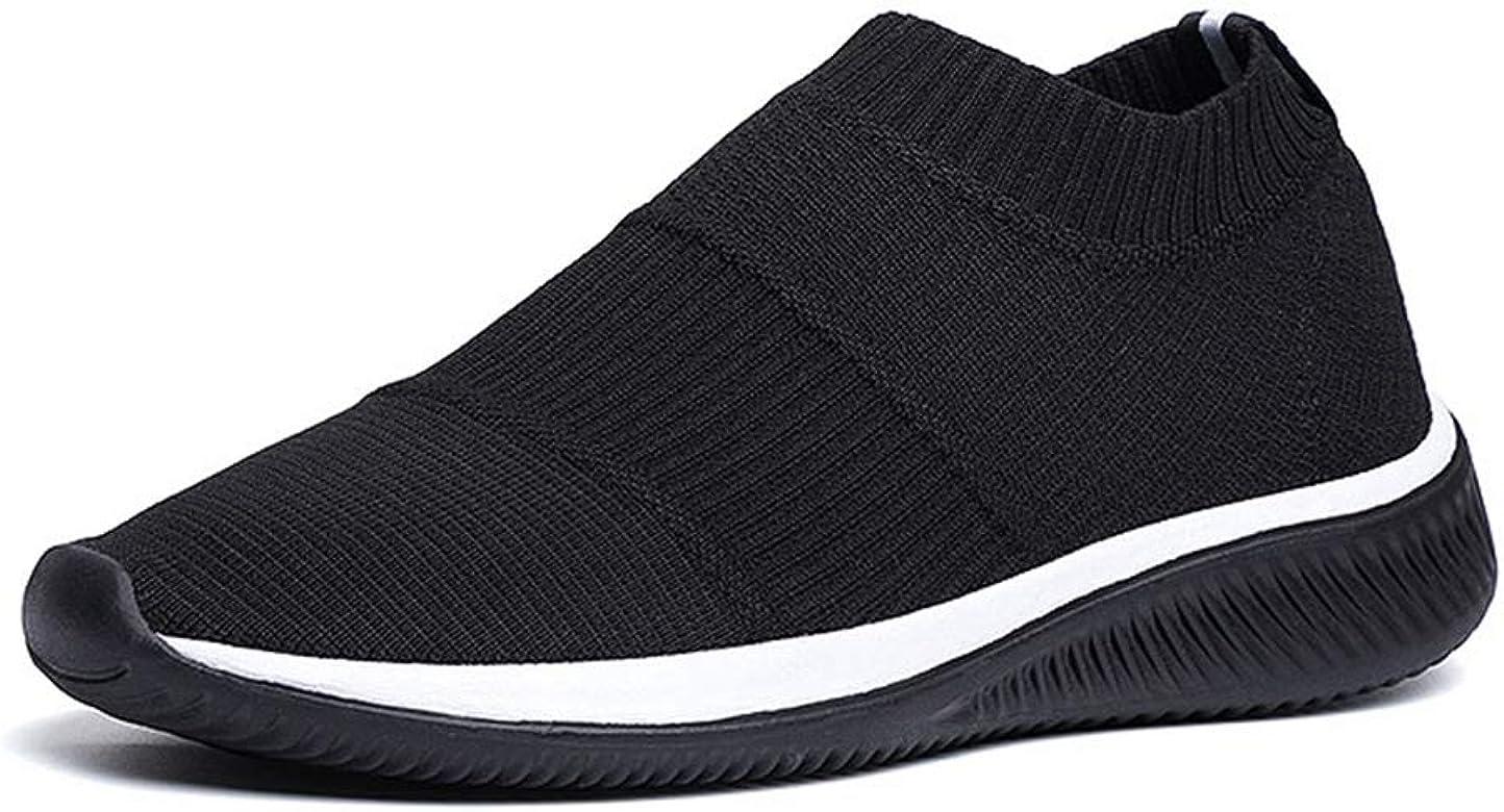 Zapatillas de Running para Hombre Zapatillas de Deporte sin Cordones Antideslizantes Zapatillas de Deporte Ligeras para Caminar: Amazon.es: Zapatos y complementos
