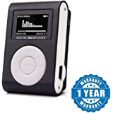 Drumstone MP3 Player Digital Sound With & USB Charger & Headphone For Exercise & Walking (Multi Colour)