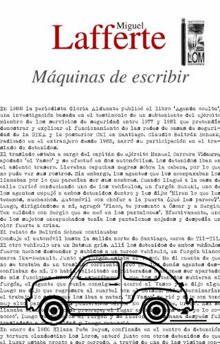 Máquinas de escribir (Spanish Edition) by [Lafferte, Miguel]
