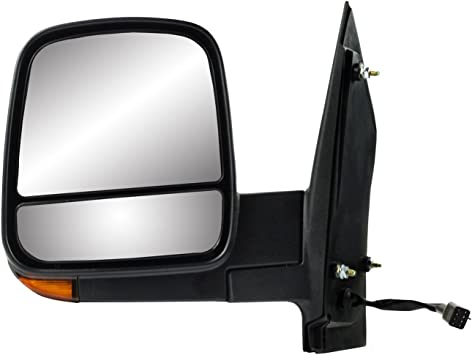 Textured Black Dual Lens Heated Power w/Turn Signal Fit System ...