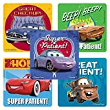 SmileMakers Disney Cars Patient Stickers - 100 Per Pack
