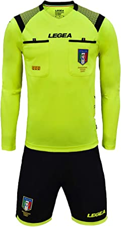 LEGEA Kit Arbitre Aia ML Officiel FIGC Saison 20192020