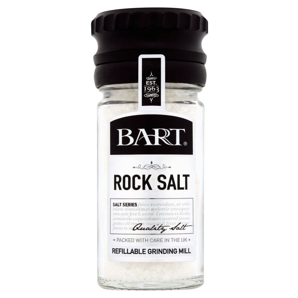 Bart Rock Salt Mill (95g) - Pack of 6