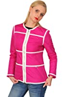 Marina Yachting Jacke Damen Pink Weiß Nylon 42 IT