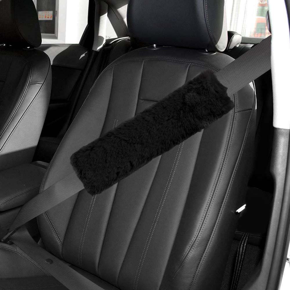 Geeignet f/ür Autositzgurt Polsterung f/ür Sitzgurt im Auto f/ür Erwachsene und Kinder Umh/ängetasche (Grau) GAMPRO Gurtpolster Auto im Zweierpack Rucksack