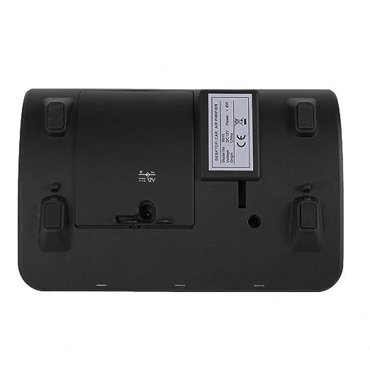 Heaviesk Autom/óvil Autom/óvil Purificador de Aire Ionizador Generador de ozono y eliminador de olores