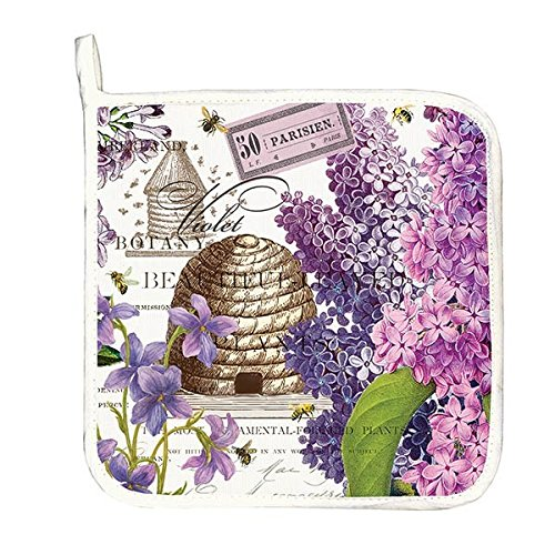 Michel Design Works Cotton Potholder, (Lilac Kitchen)