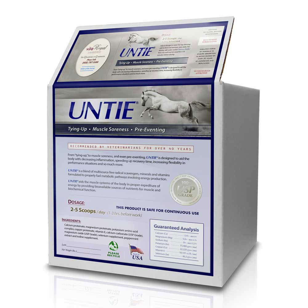 Vita Royal Untie Selenium and Vitamin E Supplement for Horses - 6 Pound