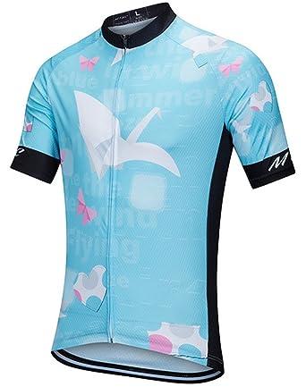 Amazon.com: nawing Mujer maillot de ciclismo para mujer ...