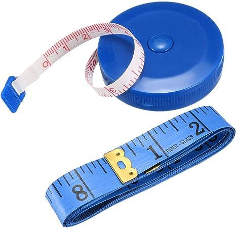 1.5m Useful Measuring Tape Retractable Imperial Metric Sewing Body Measure Tool