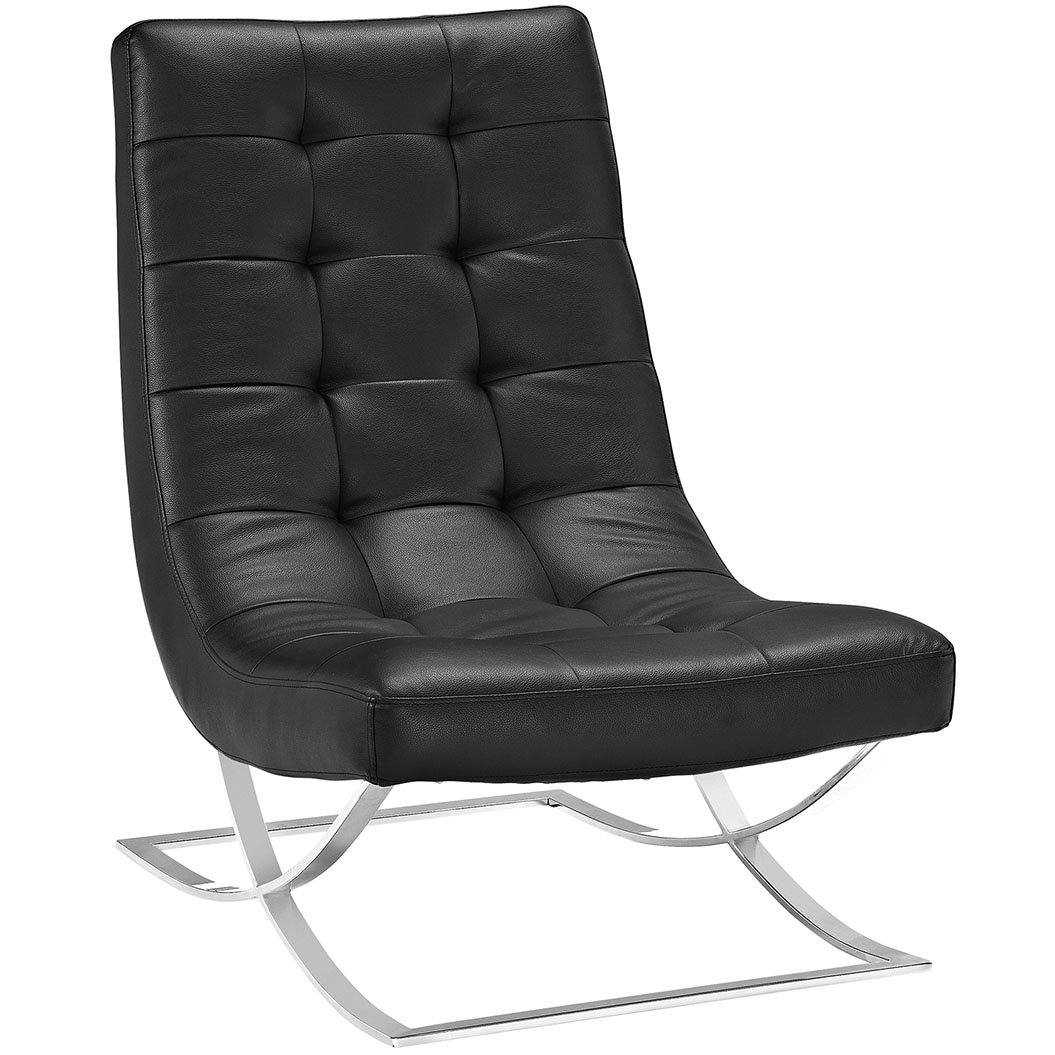 Modway Slope Lounge Chair - Black
