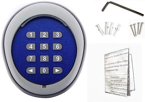 5pcs Wireless Keypad Remote Controls for Sliding Gate Opener Automatic Operator