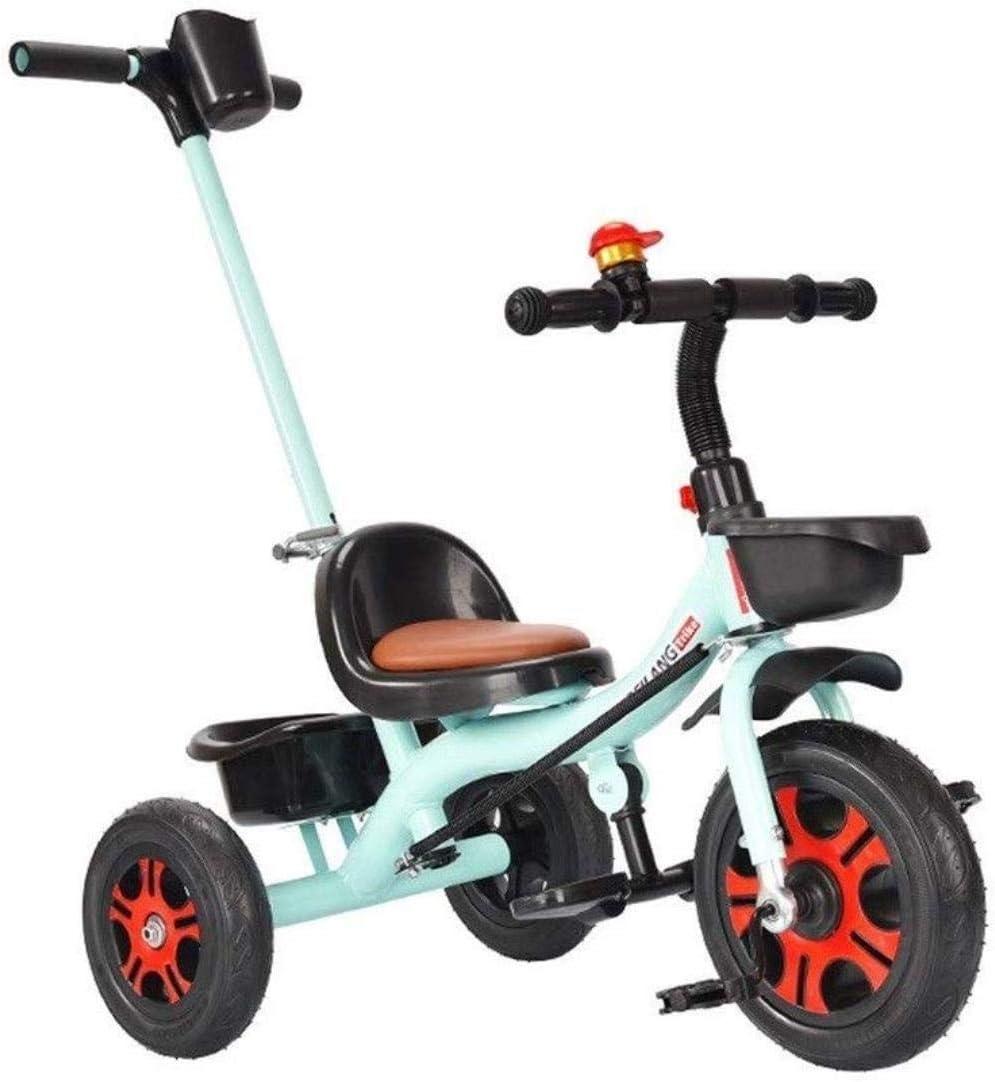 Archivadores De los niños del caballo de oscilación Trikes triciclo del cochecito del triciclo con Push manija del niño Bicicleta Con marco de acero retro niños 1-3-6 Años de Edad Artículos de Oficina
