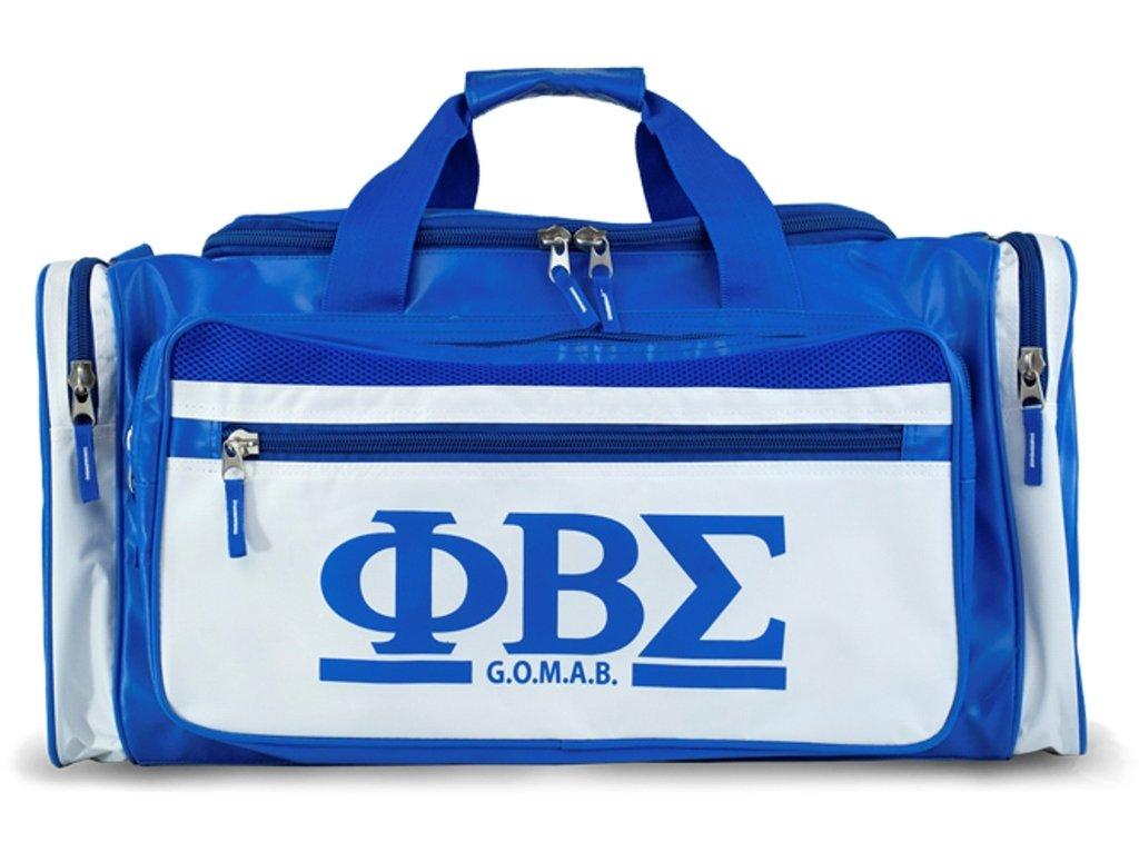 Phi Beta Sigma Fraternity Men's new Duffel Bag Royal Blue
