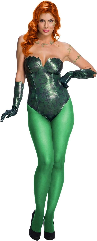 DC Comics Poison Ivy Womens Fancy Dress Costume X-Large: Amazon ...