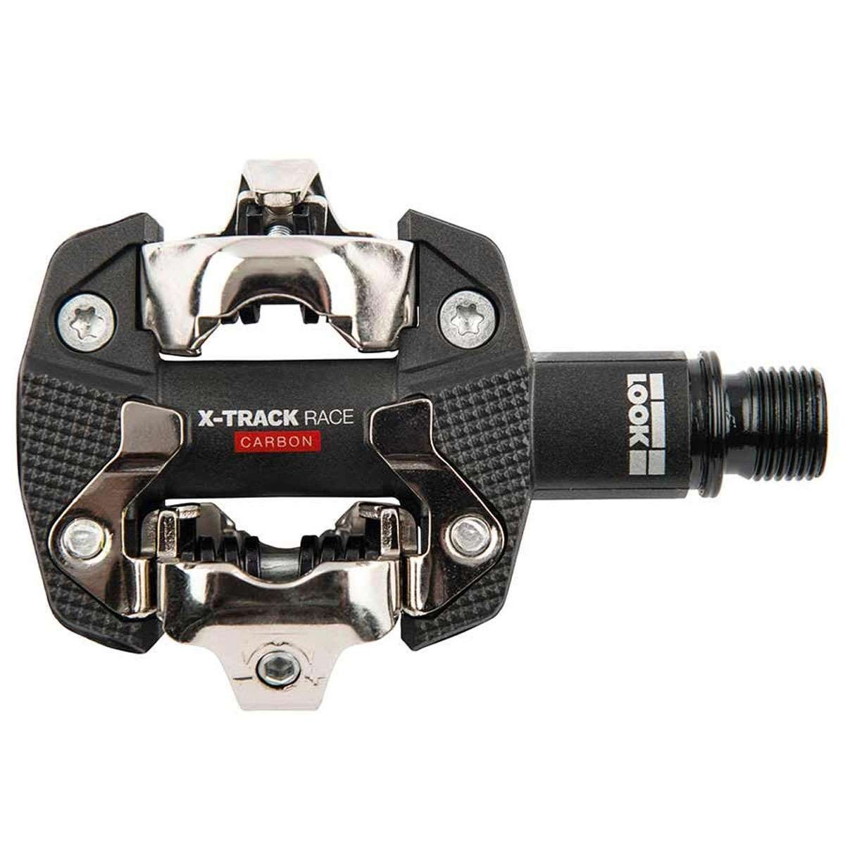 75907b4eeaa Amazon.com : Look Cycle X-Track Race Carbon Pedals Black, One Size : Sports  & Outdoors