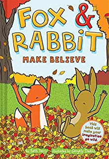 Book Cover: Fox & Rabbit Make Believe