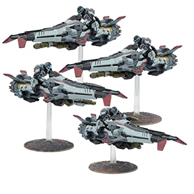 Mantic Games MGWPE304 Enforcer Jetbikes Model: Toys & Games