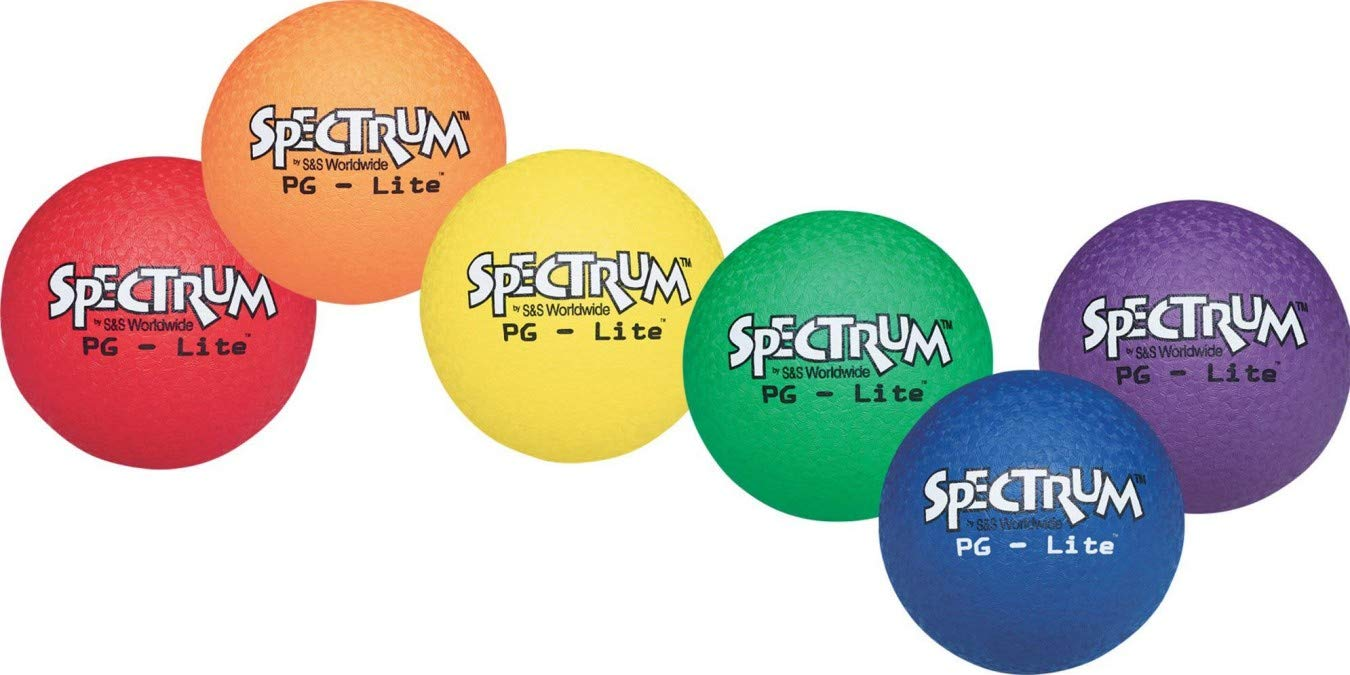 S&S Worldwide Spectrum PG-Lite Playground Ball Set (set of 6) by Spectrum
