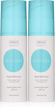 Obagi360 HydraFactor Broad Spectrum SPF 30 Sunscreen, 2.5 oz Pack of 2