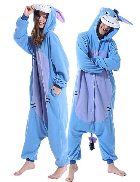 Amazon.com: Pijama de animal para adultos, disfraz de ...
