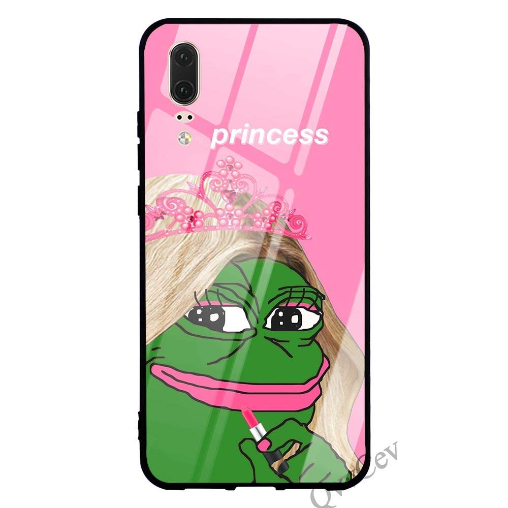 Amazon.com: Phone Case Tempered Glass Back Phone Cover for ...