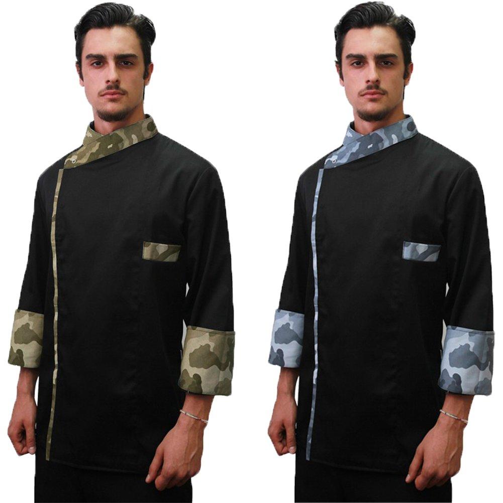 Giacca casacca divisa da cuoco mimetica chef cucina made in Italy FRATELLIDITALIA