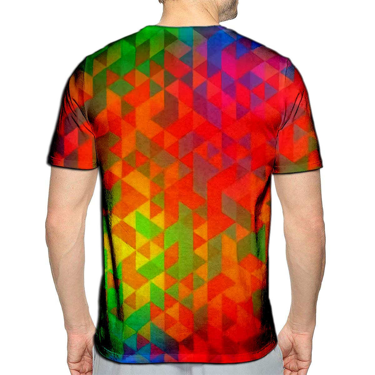 3D Printed T Shirts Gold Floral Spring with Daisy Flowers Leaves and Decorative Designs Casual Mens Hipster Top Tees