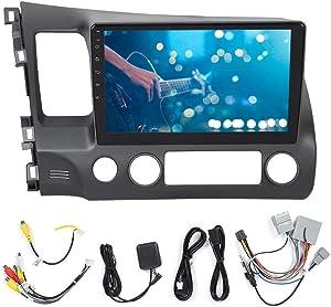 Car GPS Navigation,Car Radio Player,10.1inch Car Navigation Machine Stereo Radio Wifi GPS MP5 Player Bluetooth Music Player Fit for Civic 8th 2006-2011
