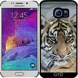DesignedByIndependentArtists Funda para Samsung Galaxy S6 Edge (SM-G925) - Tiger_2014_0901 by Jamfoto