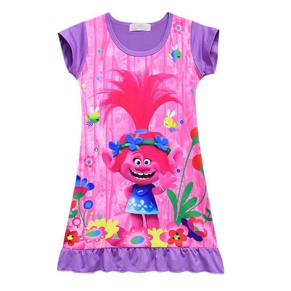 Baby Girl Dress,Fineser Adorable Toddler Kids Baby Girl Cartoon Hedgehog Tree Casual Dress Clothes Outfits