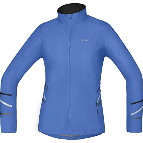 GORE RUNNING WEAR Mythos Lady Windstopper Active Shell Light - Chaqueta para Mujer, Color Azul