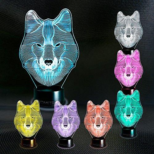 Wolf 3D Lamp