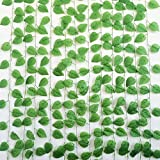 Yatim 94-Ft 12 Pack Artificial Ivy Leaf Garland Plants Vine Hanging Wedding Garland Fake Foliage Flowers Home Kitchen Garden Office Wedding Wall Decor