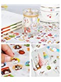 Qingsun 6 Sheets Cute Bunny Rabbit Charactor