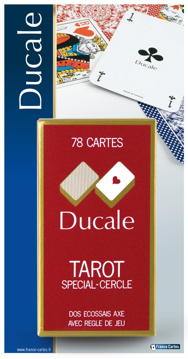 FRANCE CARTES-404680-Card Game-Tarot 78Cards Ducale by FRANCE CARTES (Image #4)
