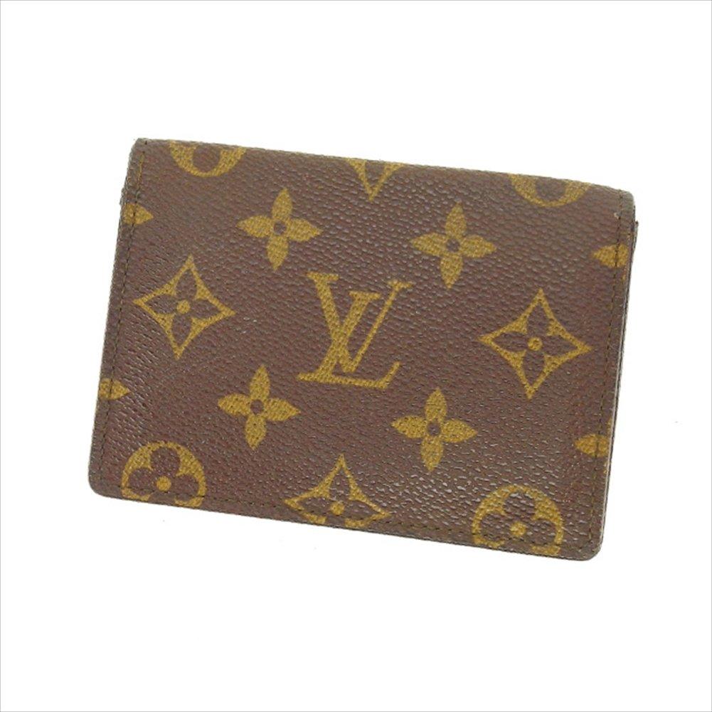 (ルイヴィトン) Louis Vuitton 定期入れ パスケース ブラウン ポルト2カルトヴェルティカル モノグラム レディース 中古 P179   B01M1IDW7G