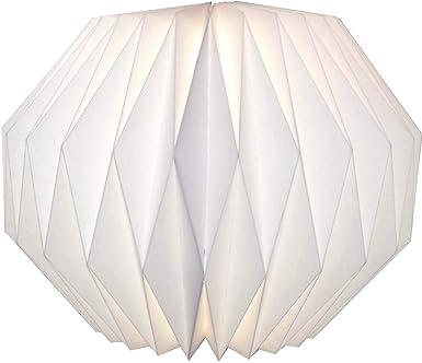 Guru Shop Origami Design Papier Lampenschirm Modell Portofino