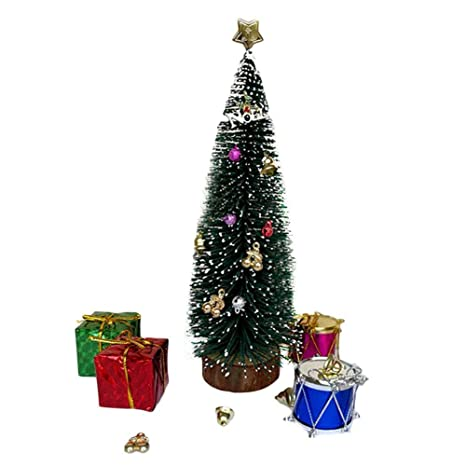 Amazon Com Yaya Dollhouse Christmas Accessories Mini Christmas Tree