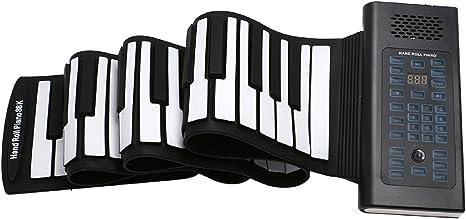 88 Tasten Roll Up Piano Roll-Up Keyboard Klavier faltbar Rollpiano