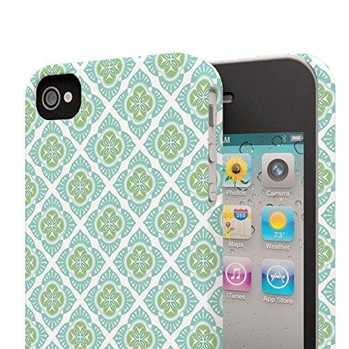 Koveru Back Cover Case for Apple iPhone 4/4S - Vector Illustration Thai