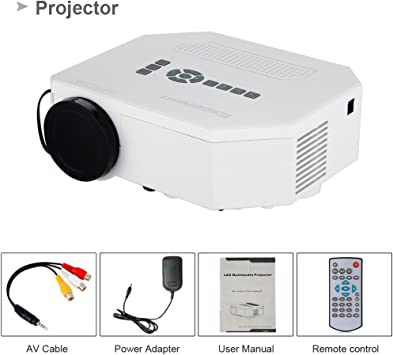 Excelvan Uc30 Proyector Mini Portatil (Multimedia LED, LCD,Teatro ...
