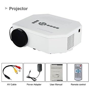 Excelvan Uc30 Proyector Mini Portatil (Multimedia LED, LCD,Teatro ...