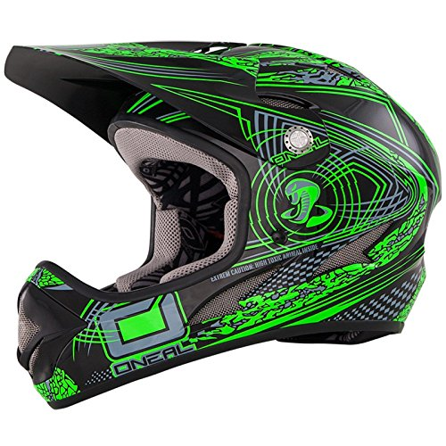 O'Neal Downhill-Helm Backflip Fidlock RL2 Grün Gr. XL