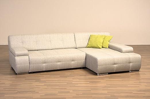 moebelhome Esquina sofá La Coruna V1 sofá, función Dormir ...