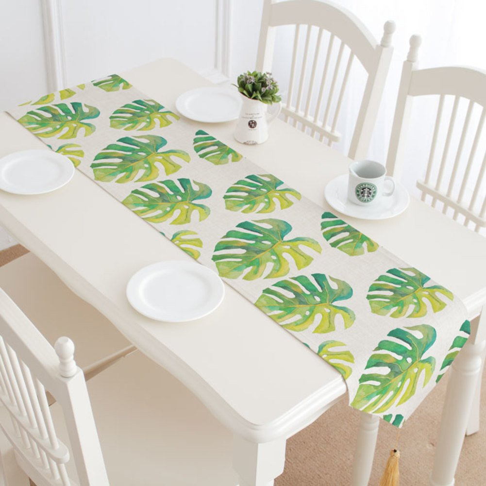 DHSNJKL Table runner/plant table flag/table runner/cover towels/bed flag -A 30x160cm(12x63inch)